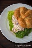 Tuna Salad Sandwich Croissant
