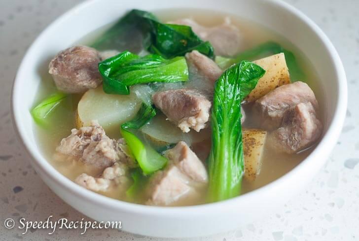 Filipino Pork Nilaga Recipe (Boiled Pork Soup in Clear Broth)
