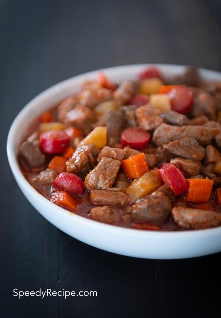pork menudo stew