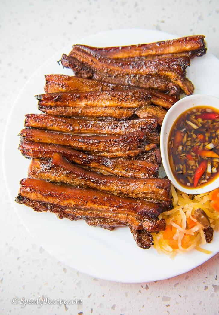 Grilled Pork Belly