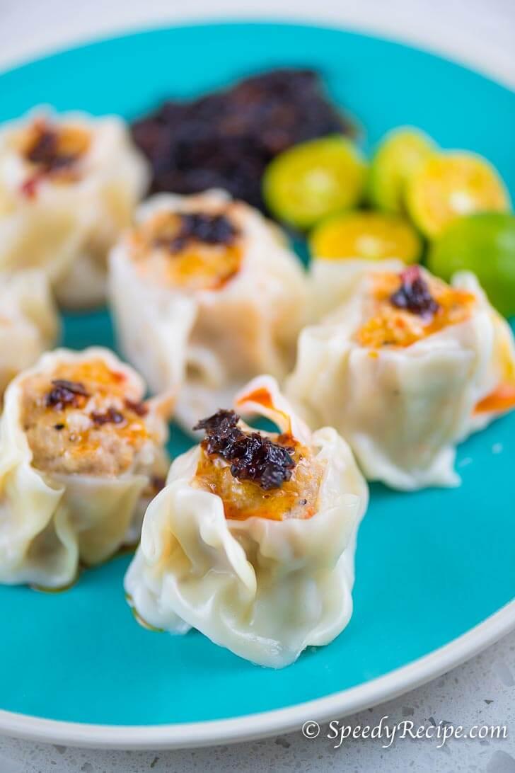 Pork Siomai - Shumai Recipe