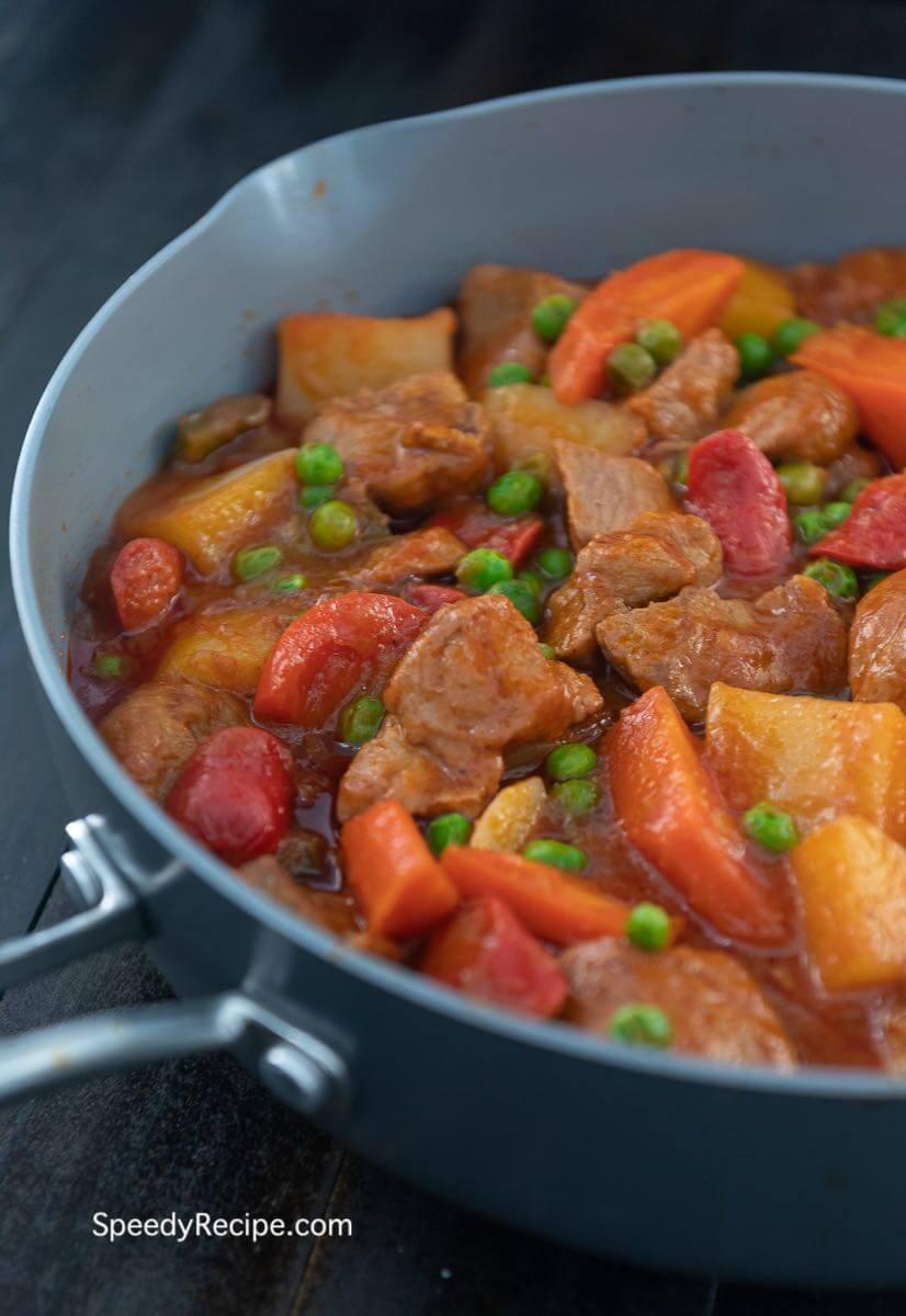 Pork Afritada Recipe