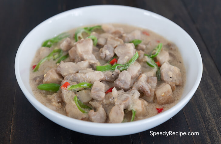 How to Cook Bicol Express