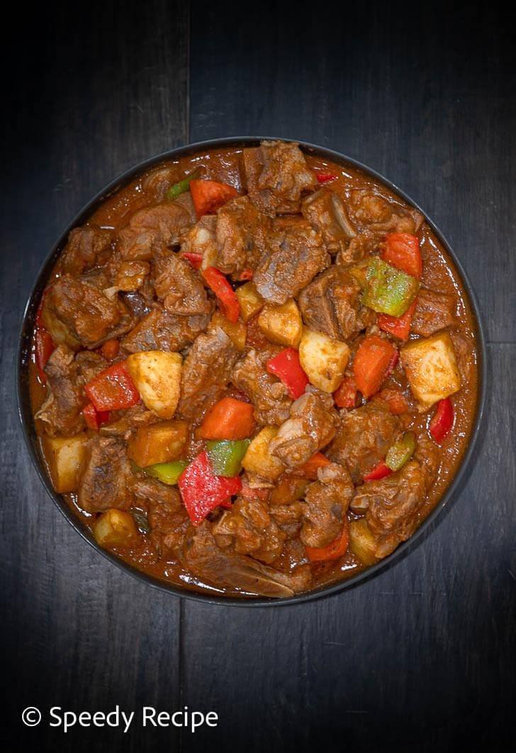 Caldereta Spareribs recipe