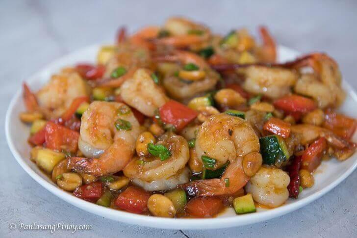 kung pao shrimp
