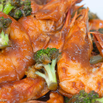 shrimp with broccoli in oyster sauce recipe